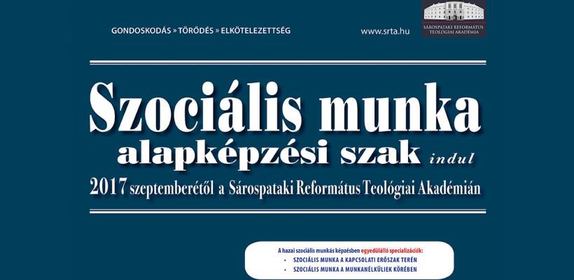 Szociális munka alapképzési szak indul 2017 szeptemberében