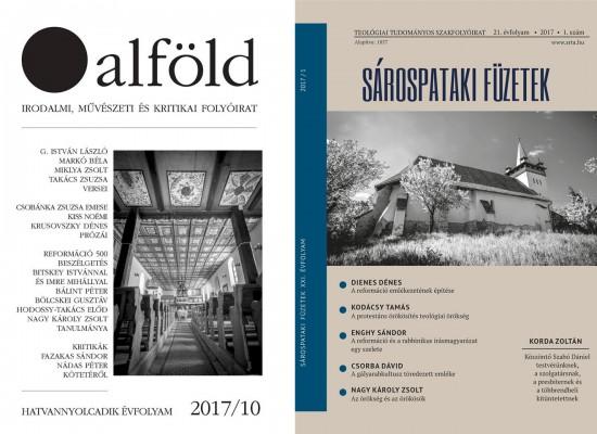 PÁTOSZMENTES REFLEXIÓK – Kustár György szemléje az Alföld és a Sárospataki Füzetek tematikus számairól