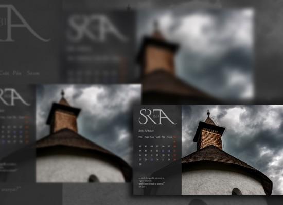 Áprilisi háttérkép naptárak